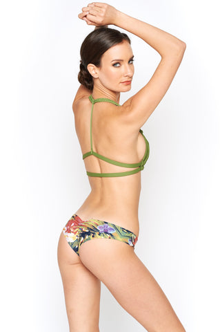 Montce Swimwear Safari Nu Micro Bikini Bottom