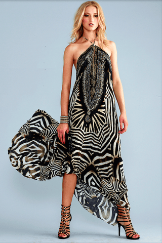 Parides Zebra Print Dress