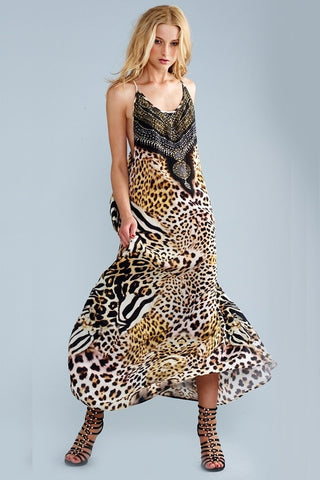 Parides Leopard Print Dress