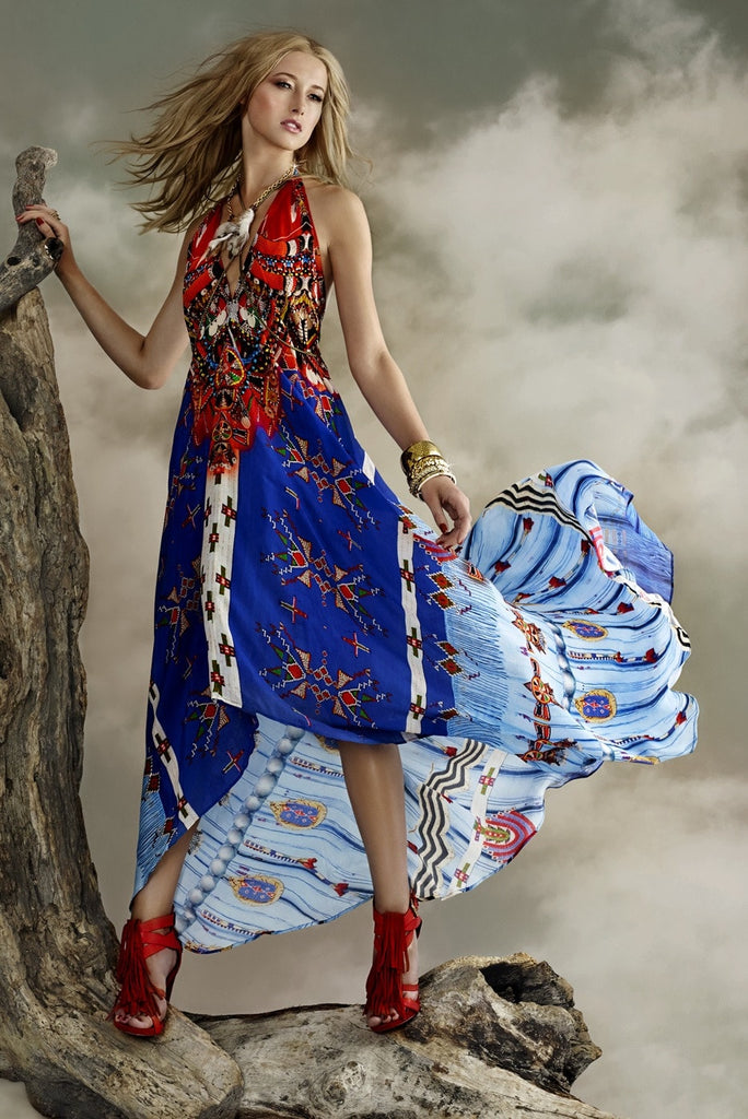 Parides Navajo Tribal Dreams - Blue