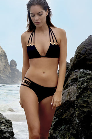 Poema Swim Black isla Top