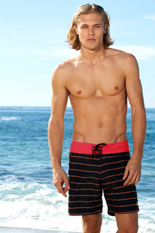 Sauvage - Red Surf Shorts