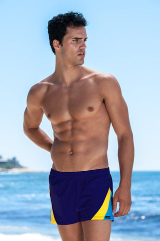 Sauvage Swimwear Swim Trunks - Navy