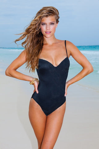 Sauvage one piece swimsuit - black