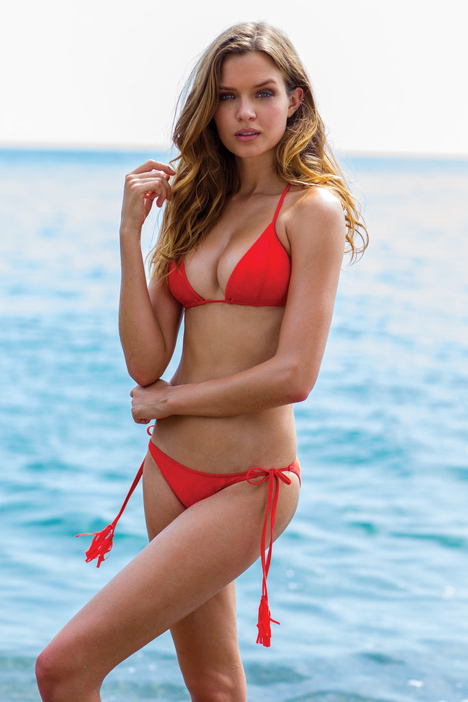 Sauvage Swimwear - Red Bikini Set