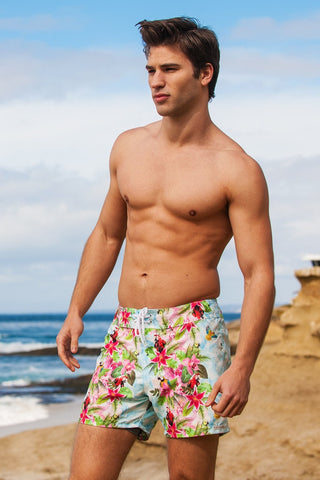 Sauvage Swimwear Tropical Shorts