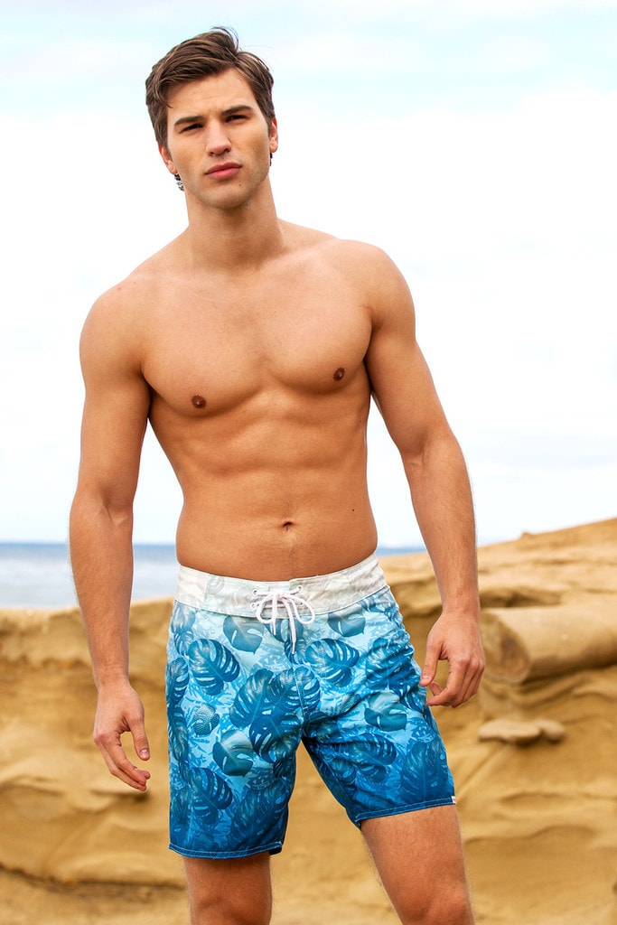 Sauvage Tropical Surf Shorts