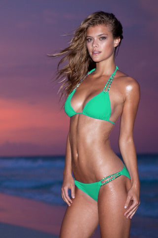 green bikini - Sauvage swimwear