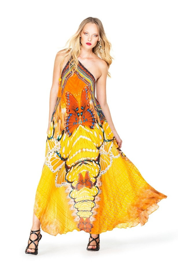 Shahida Parides Luxury Silk Dress