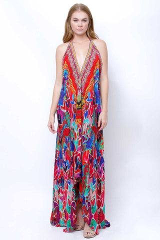 Parides Silk Dress