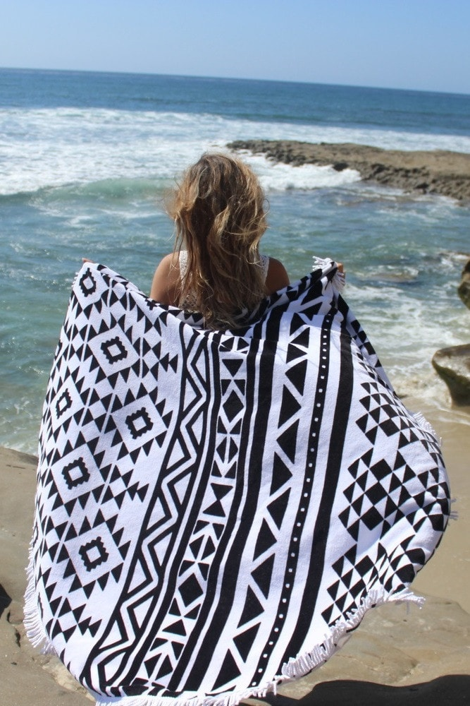 Slippa Hanalei Beach Towel | Luxury Beach Towel