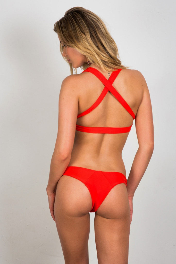 Soah Alice Bikini Bottom - Red