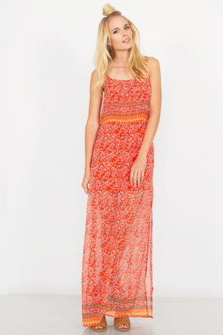 Sugar Lips Spring Love Maxi Dress
