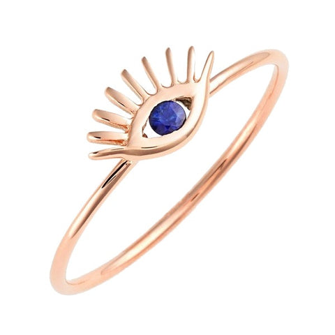 Tai Jewelry Rose Gold Ring