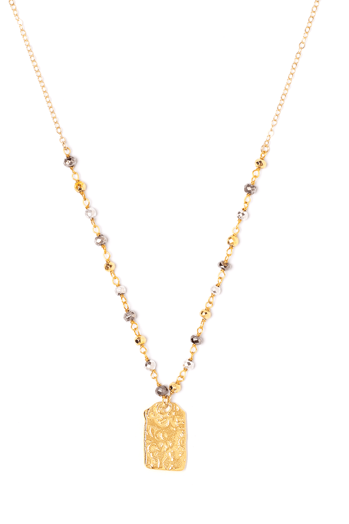 Square Coin Necklace