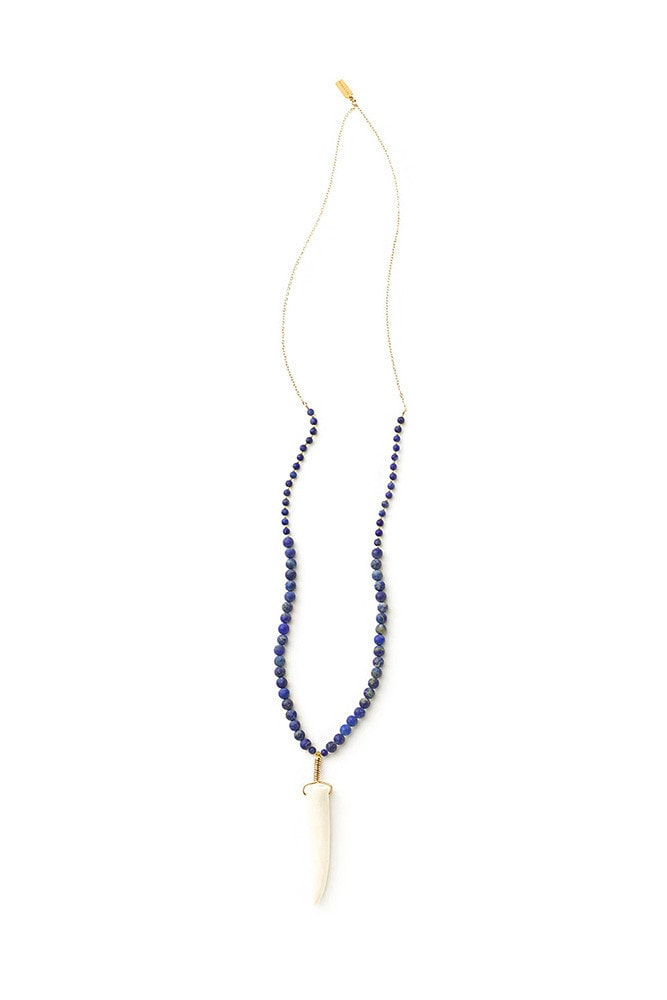 lapis mixed necklace