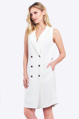 White Trench Jacket