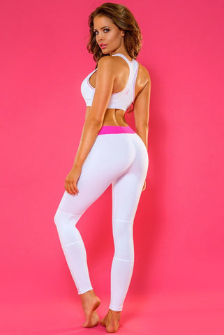 Bombshell leggings - White