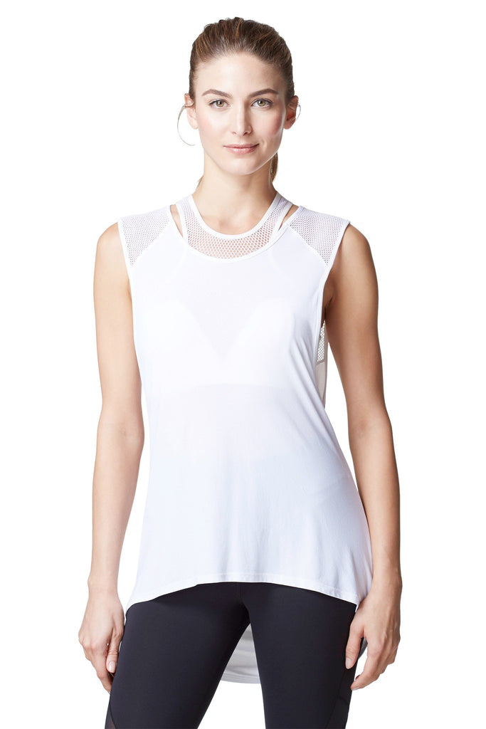 Michi Molten Top | White Designer Top