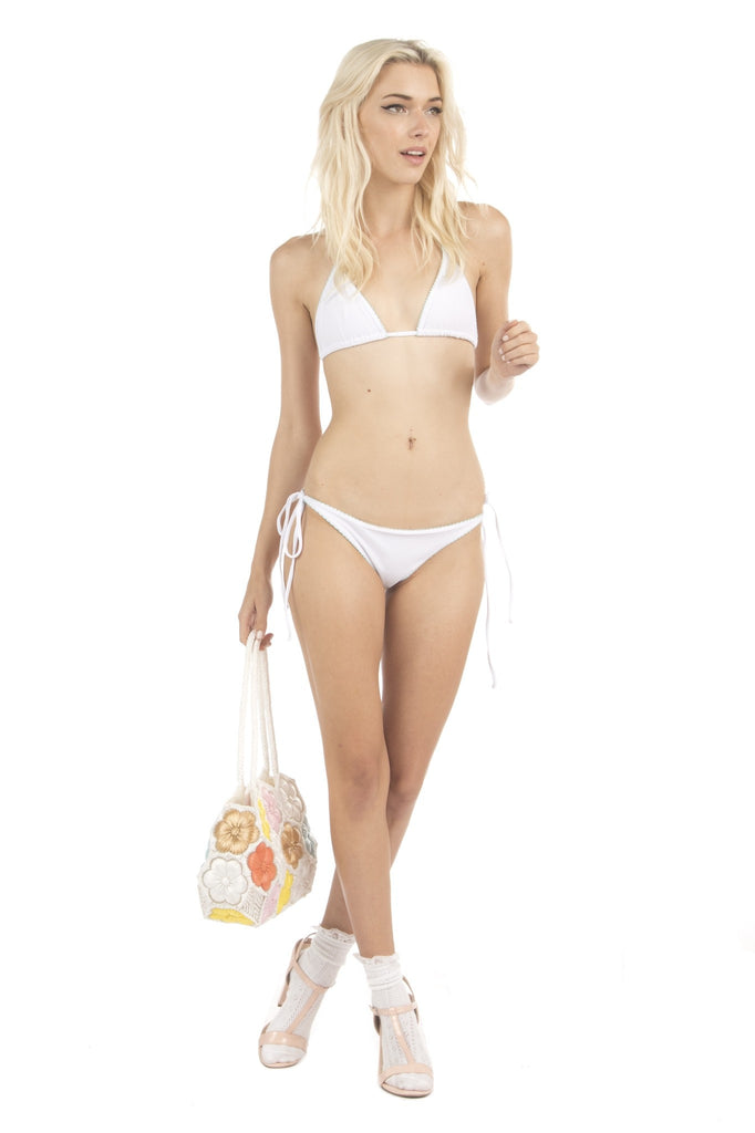 Lolli Swim Sunshine Top - Sand Dollar
