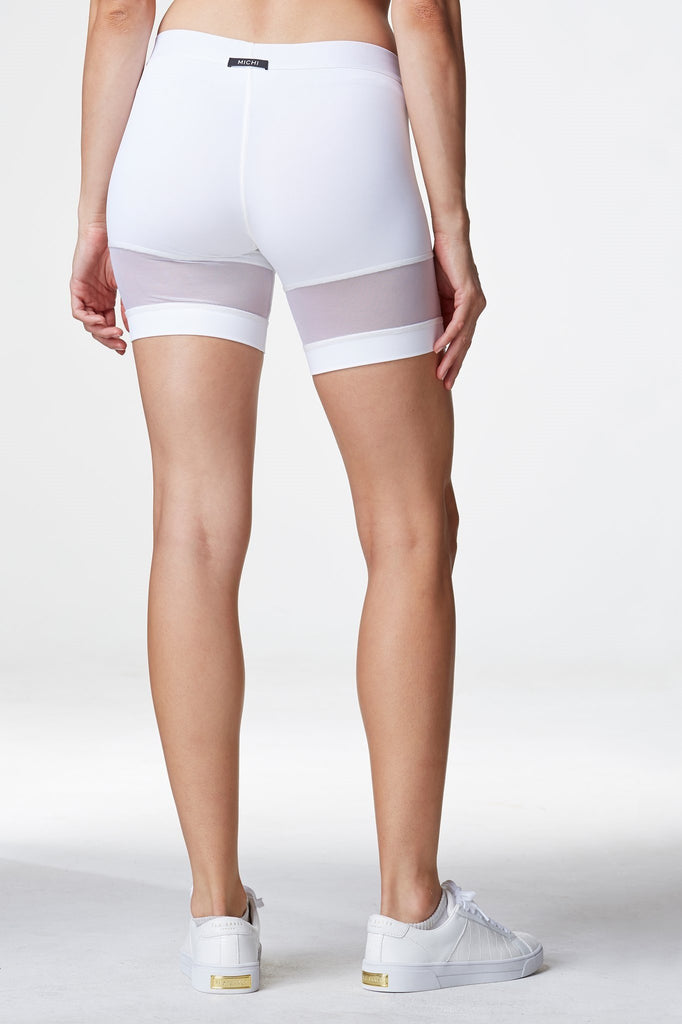 White Workout Shorts