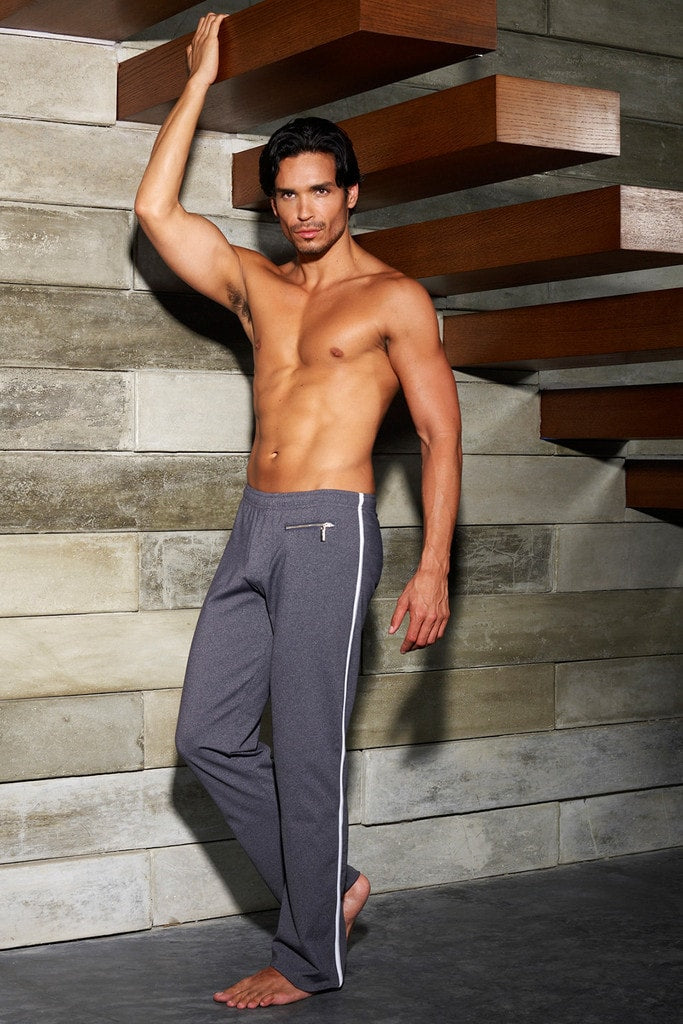 Sauvage Workout Pants - Grey Charcoal