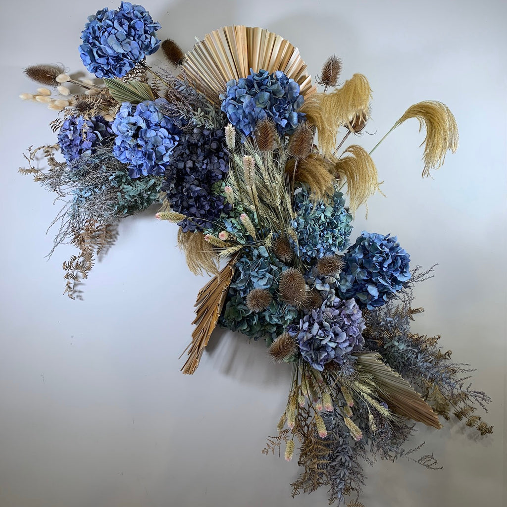 Dried wall arrangement  - Option 1 - The Botanist Florist