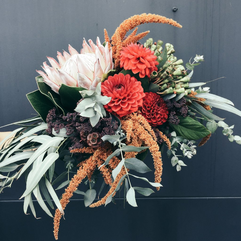 Rustic Bouquet - The Botanist Florist