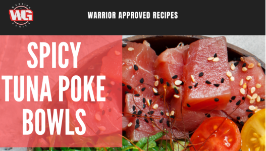 Hawaiian Night: Warrior Tuna Poke Bowls [RECIPE]