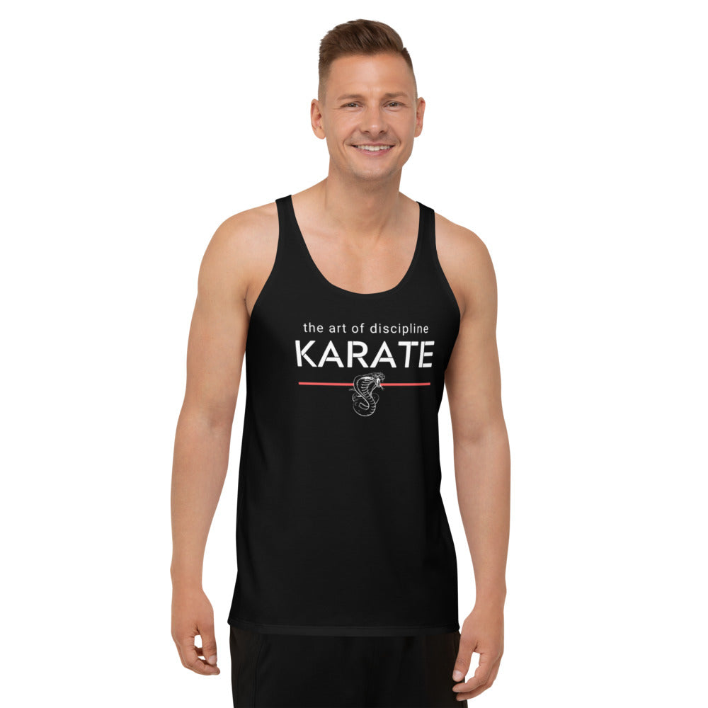 The Art of: Karate (Unisex Tank Top) - Warriorgenics
