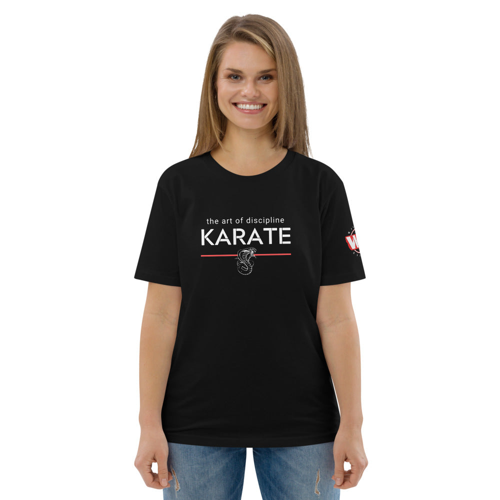 The Art of: Karate - Unisex organic cotton t-shirt