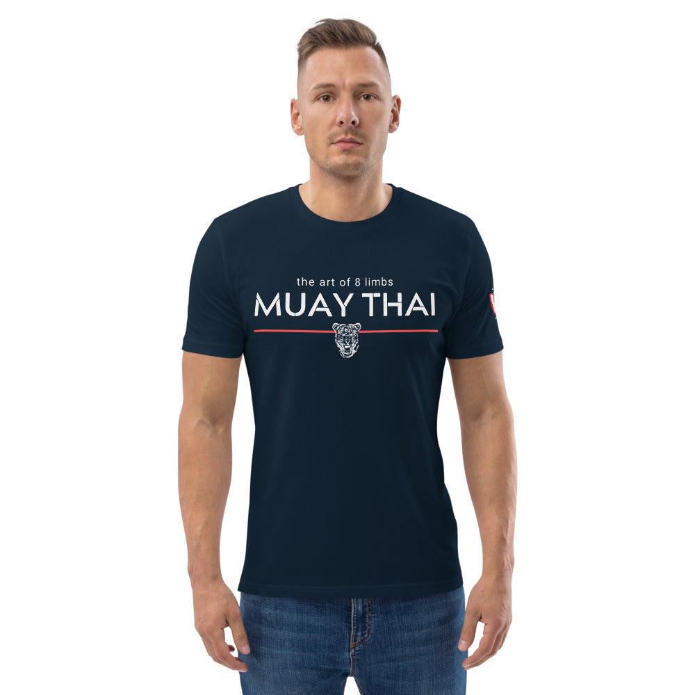 The Art of: Muay Thai - Unisex organic cotton t-shirt