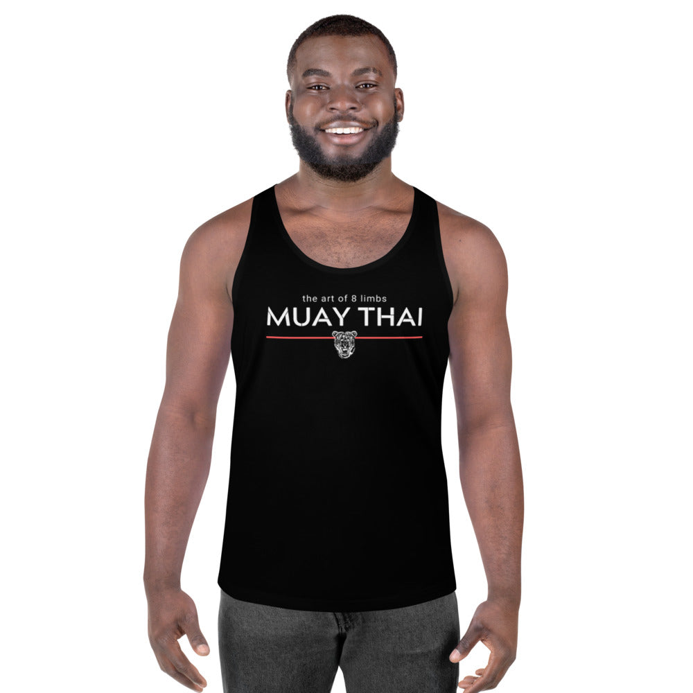 The Art of: Muay Thai (Unisex Tank Top) - Warriorgenics