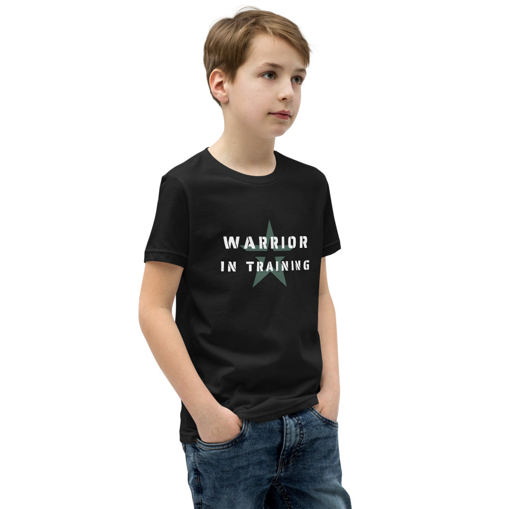 Warrior in Training - Youth Short Sleeve T-Shirt