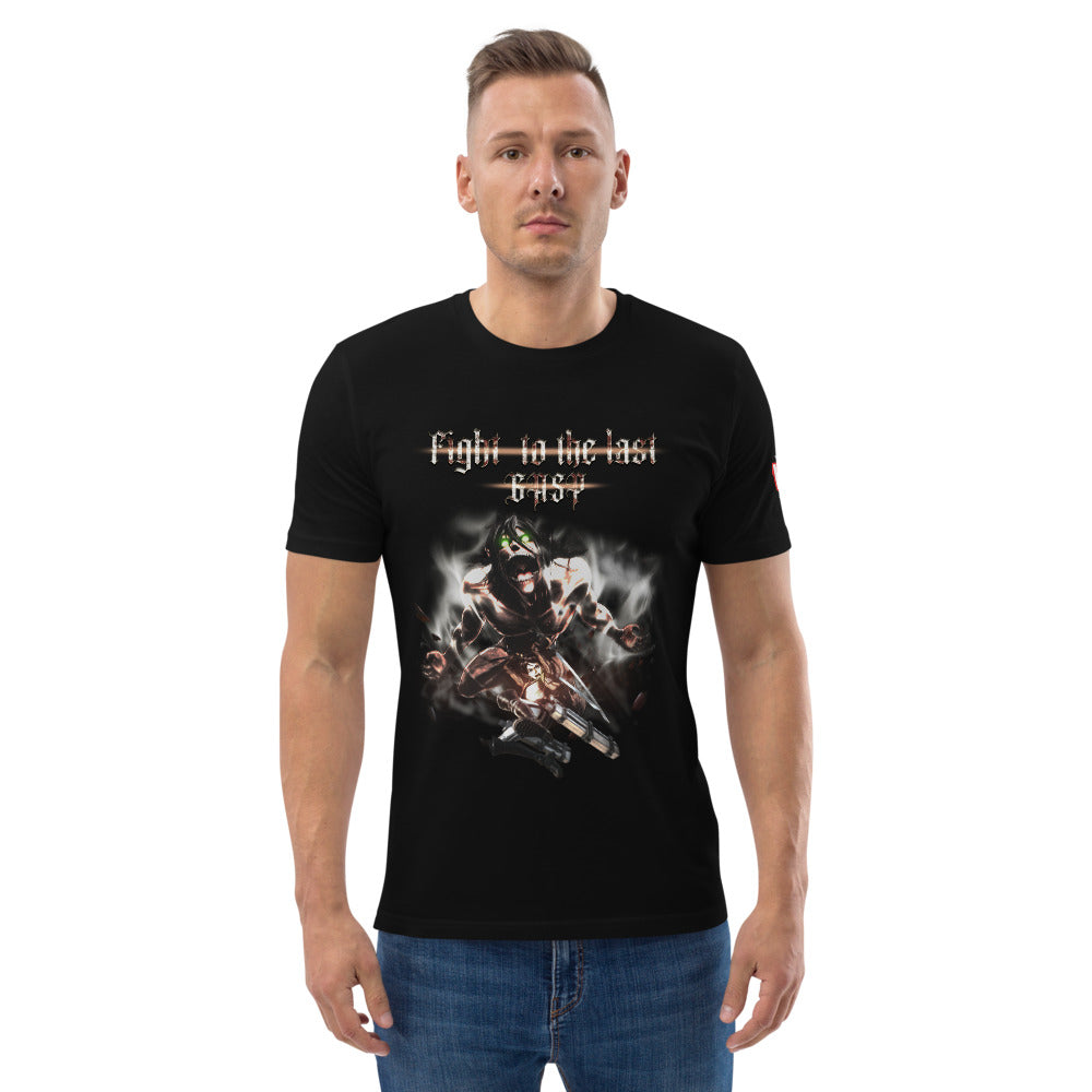 Crux of the Fight - Unisex organic cotton t-shirt