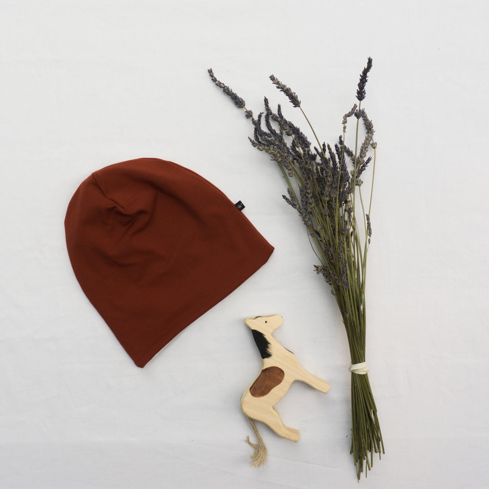 Adult Beanie - Red
