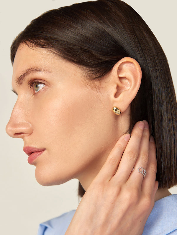 Premium Ball Stud Earrings - 𝐄𝐑𝐔𝐌𝐉𝐔𝐒
