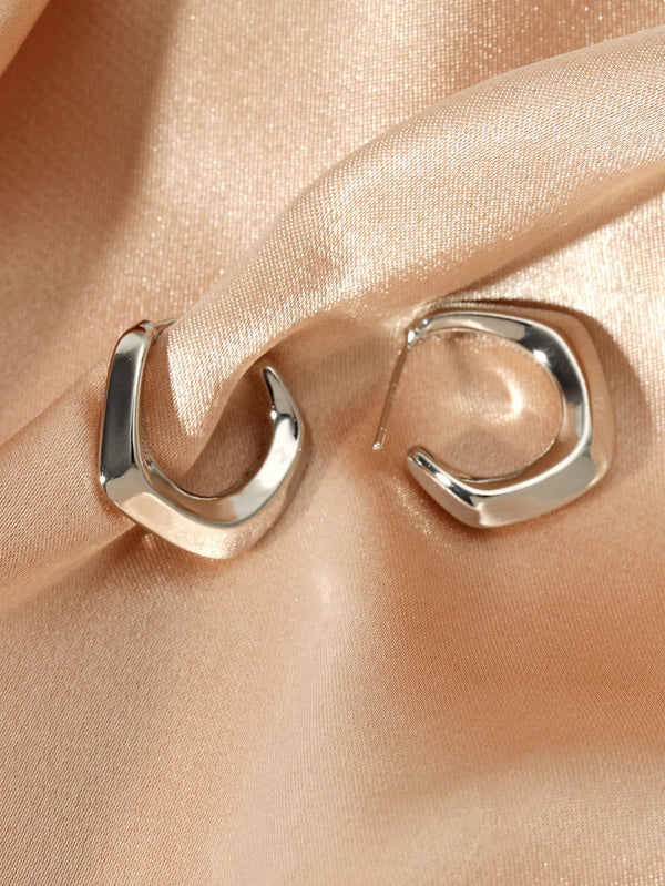 Cuff Hoop Earrings - 𝐄𝐑𝐔𝐌𝐉𝐔𝐒
