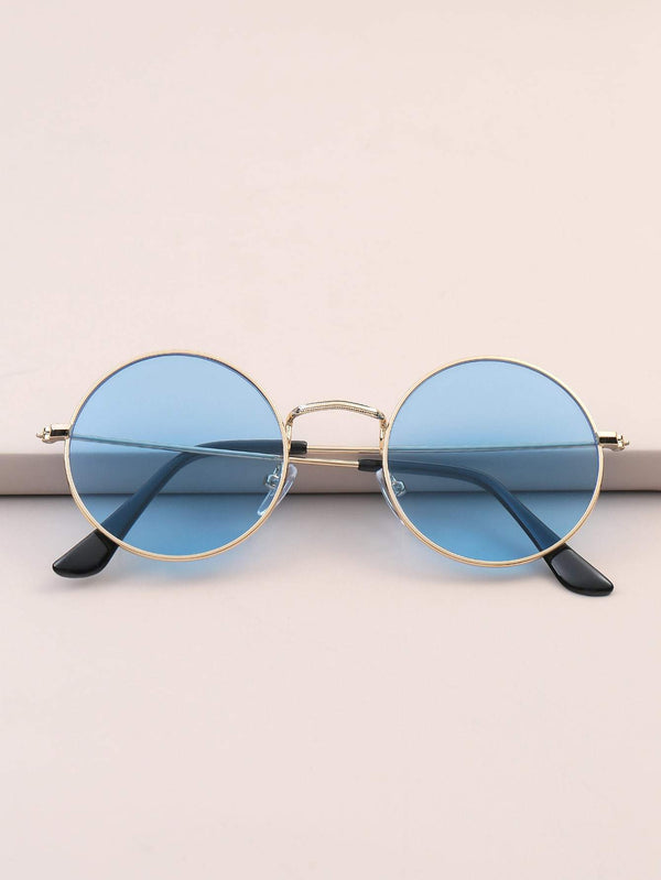 Men Round Frame Sunglasses - 𝐄𝐑𝐔𝐌𝐉𝐔𝐒