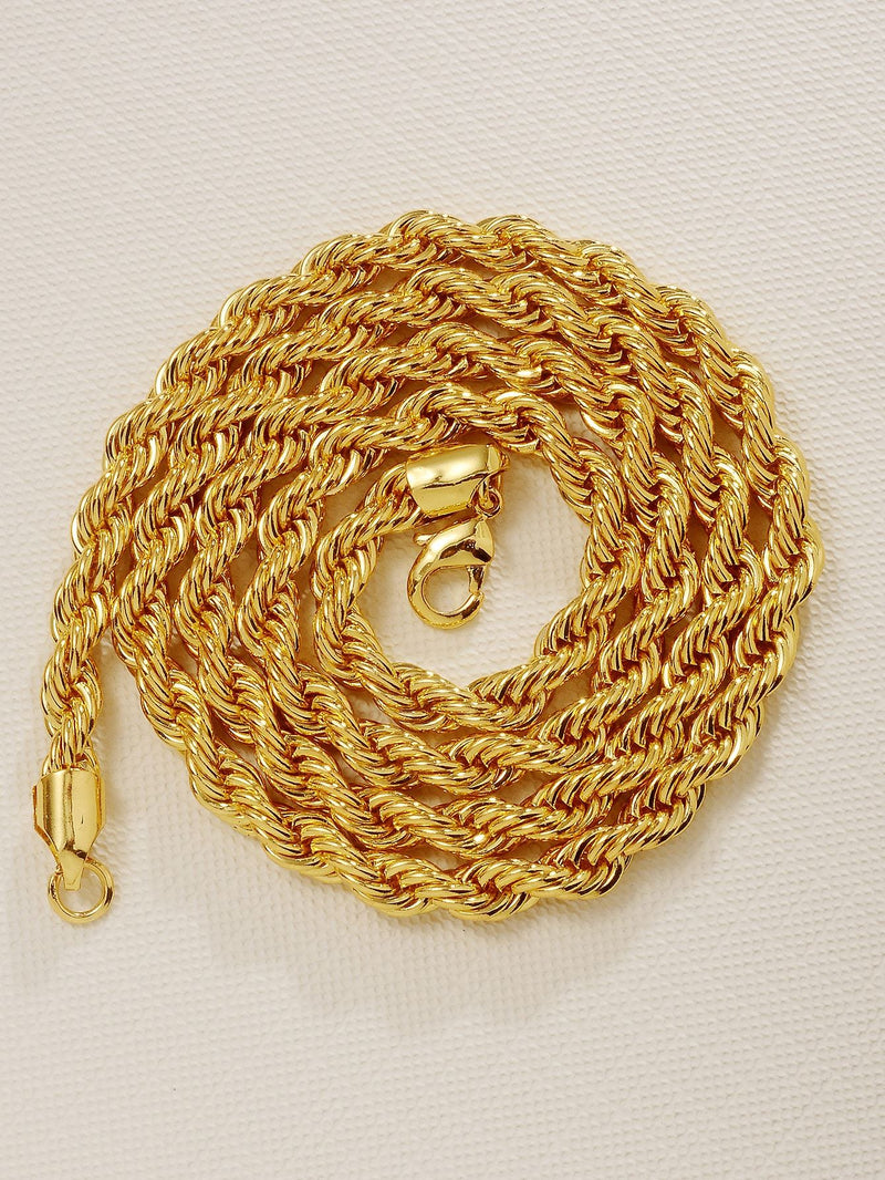 ClassyMen Twist Chain Necklace - 𝐄𝐑𝐔𝐌𝐉𝐔𝐒