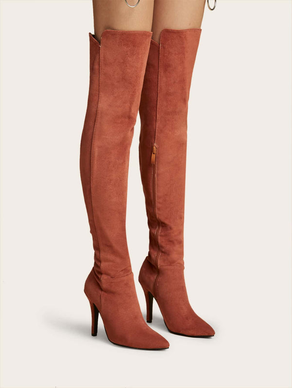 Point Toe Over The Knee Boots - 𝐄𝐑𝐔𝐌𝐉𝐔𝐒