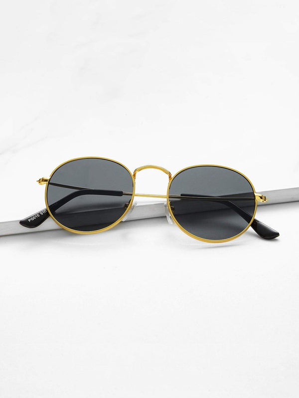 Metal Frame Sunglasses - 𝐄𝐑𝐔𝐌𝐉𝐔𝐒