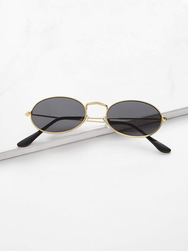 Retro Oval Sunglasses - 𝐄𝐑𝐔𝐌𝐉𝐔𝐒