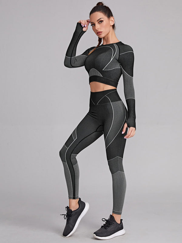 Cut Out Back Sports Set - 𝐄𝐑𝐔𝐌𝐉𝐔𝐒