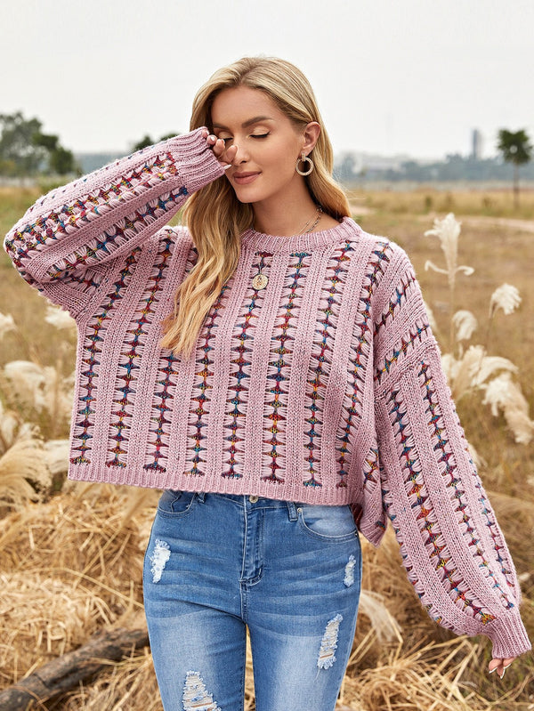 Drop Shoulder Oversize Sweater - 𝐄𝐑𝐔𝐌𝐉𝐔𝐒