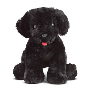 Benson Black Lab Plush Animal