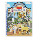Riding Club Puffy Sticker Activity Book