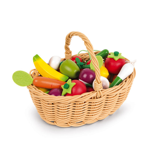 Fruits and Vegetables Basket - 24pc.