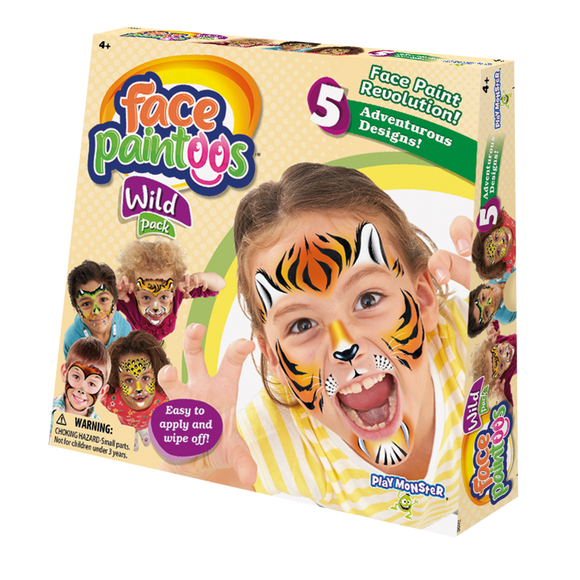 Face Paintoos - Wild