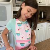 Cupcake Deluxe Youth Apron Box Set